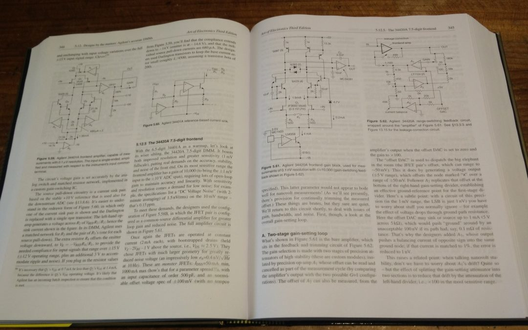 Review – The Art of Electronics, 3rd Edition